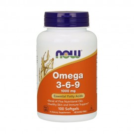NOW Omega 3-6-9 1000mg 100 μαλακές κάψουλες