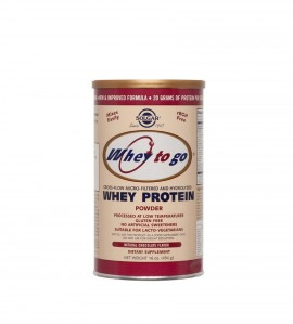 SOLGAR Whey To Go Protein Chocolate 454gr
