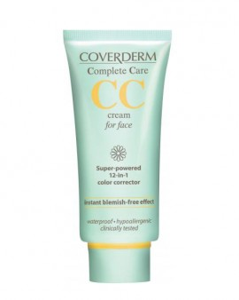 COVERDERM CC Cream προσώπου Light Beige