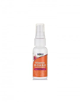 NOW Vitamin D-3 & K-2 Liposomal Spray 59ml
