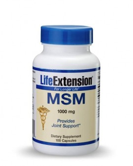 LIFE EXTENSION MSM 1000mg
