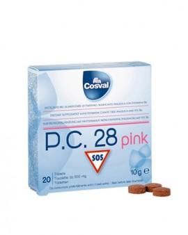 COSVAL P.C28 Pink 20 δισκία