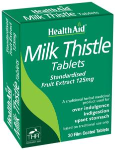 HEALTH AID Milk Thistle Extract 30 ταμπλέτες