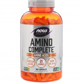Now Amino Complete 750mg 360 κάψουλες
