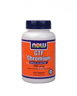 NOW GTF Chromium 200mcg