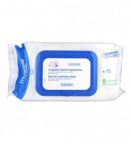Mustela Dermo-soothing wipes 70τεμάχια