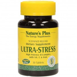 NaturesPlus Ultra Stress with Iron 30 Tablets