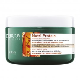 Vichy Dercos Nutrients Nutri Protein Restorative Mask for Dry Hair 250ml