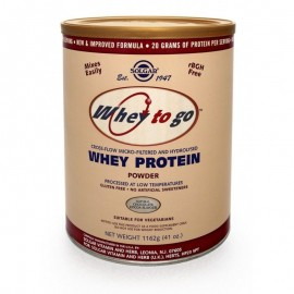SOLGAR Whey To Go Protein Chocolate 1162gr