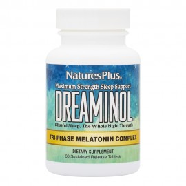 NaturesPlus Dreaminol 30 Sustained Release Bilayer Tablets