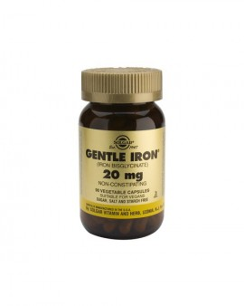 SOLGAR Gentle Iron 20mg 90 caps