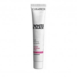Curaprox White Is Black Toothpaste Whitening Mild Lime-Mint 90ml