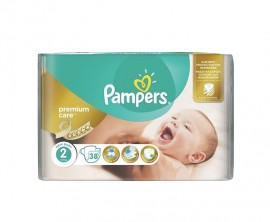 Pampers Premium Care No2 (3-6kg) 38 πάνες