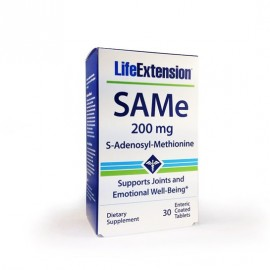 Life Extension SAMe 200mg 30 ταμπλέτες