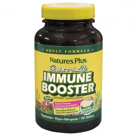 NaturesPlus Source of Life Immune Booster 90 Tablets - Adult Formula