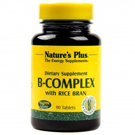 NaturesPlus B-Complex With Rice Bran 90 Tablets